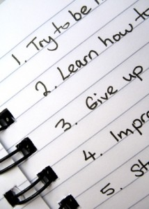 Writing your goals down improves success rates