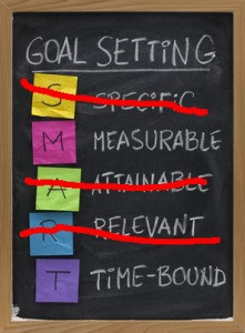 pic: For Better SMART Goals, Focus on the M and the T